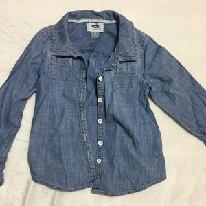 Other - Girl jean shirt